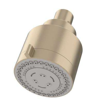 Dia 3-Spray Fixed Shower Head in Satin Nickel