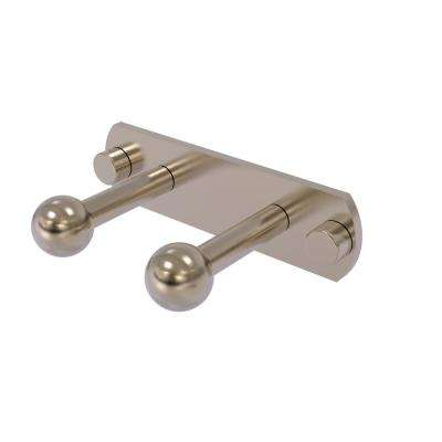 Prestige Skyline Collection 2 Position Multi Peg Robe Hook in Antique Pewter
