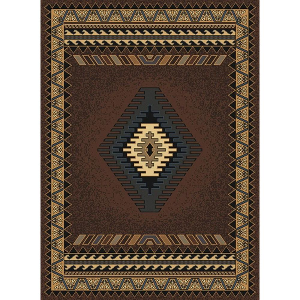 United Weavers Tuscan Brown 8 Ft X 11 Ft Area Rug