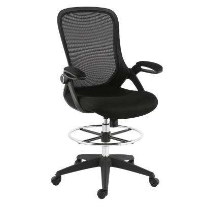 Sadia Mesh Black Drafting Chair