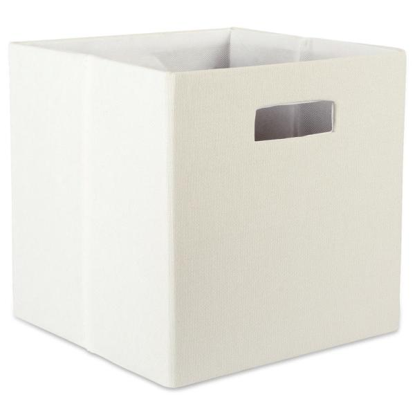 6205ad5fe852 DII Square Polyester Solid Storage Cube CAMZ37989 - The Home Depot