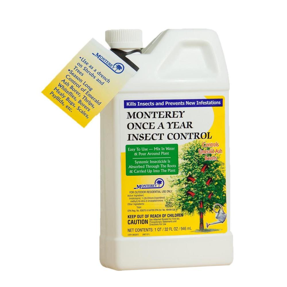 1 qt. Concentrated Once-a-Year Insect Control