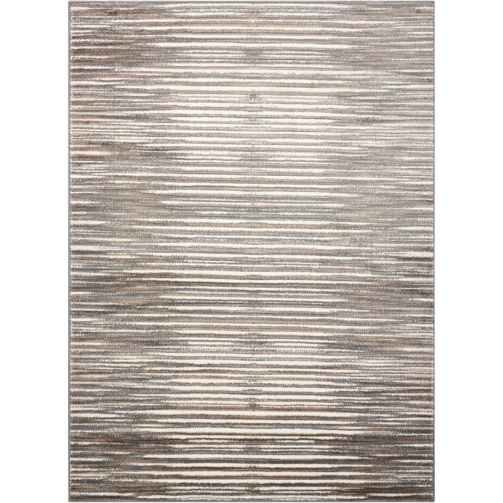 Studio Ivory/Grey 5 ft. x 7 ft. Area Rug