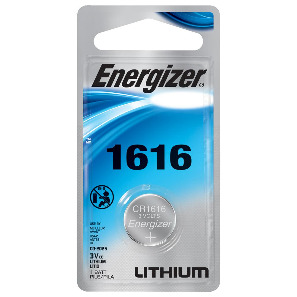 Energizer Lithium Cr 1616 Battery Ecr1616bp The Home Depot Baterai Aa Maxell Super Power Ace Red