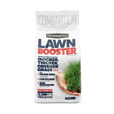 9.6 lbs. Sun and Shade Lawn Booster with Smart Seed, Fertilizer and Soil Enhancers