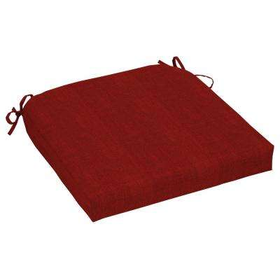 CushionGuard Chili Contoured Outdoor Seat Cushion