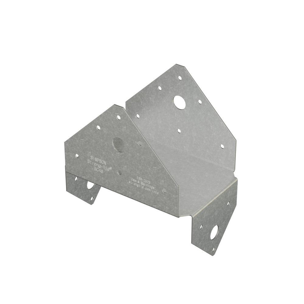 BC Galvanized Post Cap for 4x6 Nominal Lumber