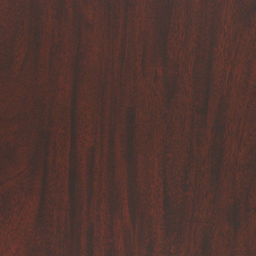 Wilsonart 3 in. x 5 in. Laminate Countertop Sample in Figured Mahogany with Premium FineGrain Finish