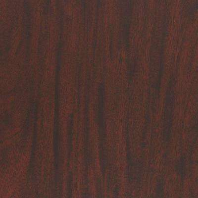 3 in. x 5 in. Laminate Sheet in Figured Mahogany with Premium FineGrain Finish