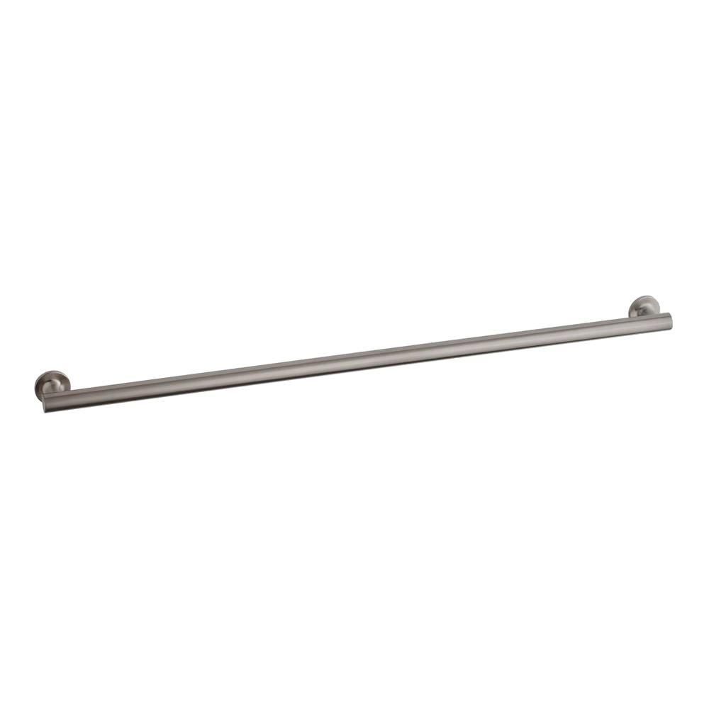KOHLER Purist 42 in. Concealed Screw Grab Bar in Brushed Stainless