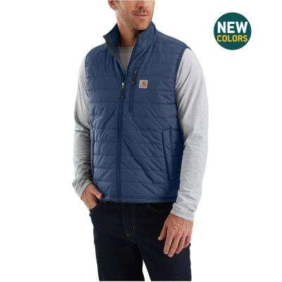 MEN'S LARGE DARK BLUE CORDURA NYLON GILLIAM VEST