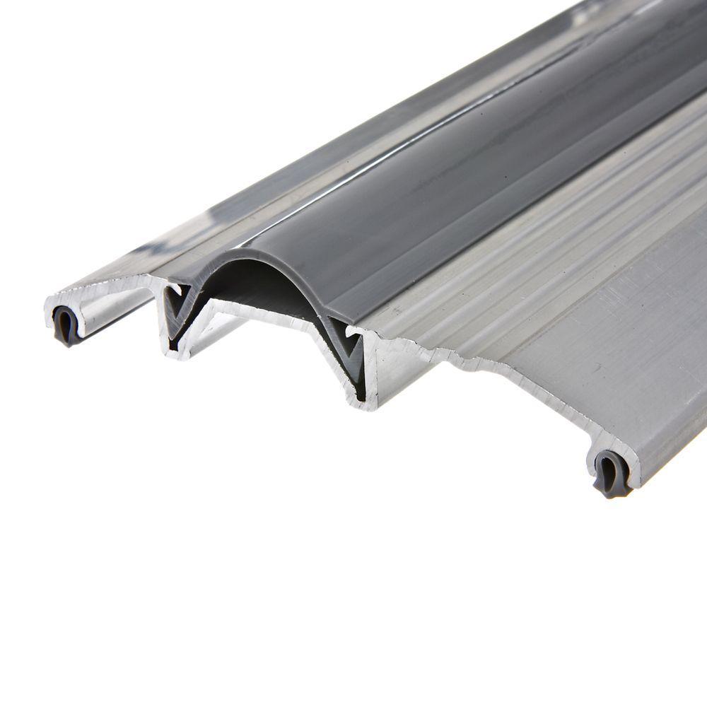 Wide Aluminum Silver Threshold