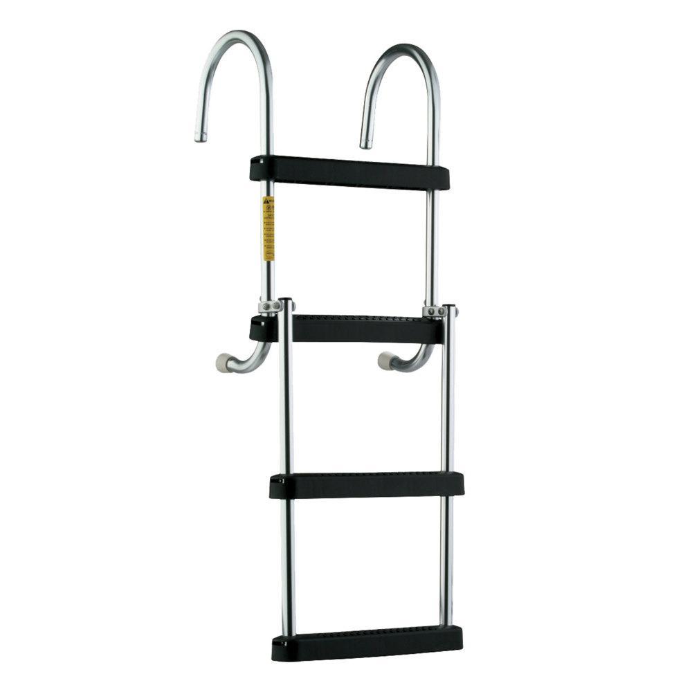 Removable Folding Pontoon Boarding Ladder