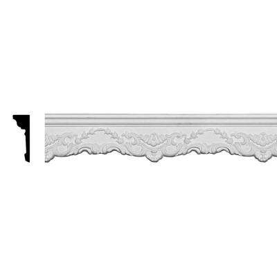 1-1/4 in. x 4-1/4 in. x 94-1/2 in. Polyurethane Emery Chair Rail Moulding