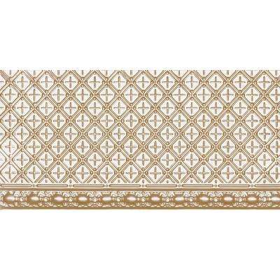 2 ft. x 4 ft. Nail-up Tin Ceiling Tile in Satin Brass (24 sq. ft. / case)