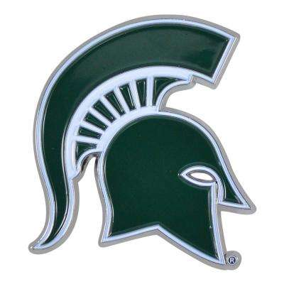 2.1 in. x 3.2 in. NCAA Michigan State University Color Emblem