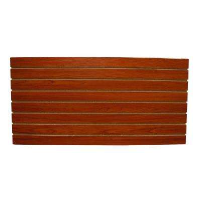 2 ft. x 4 ft. Cherry Slatwall Easy Panel (2-Piece per Box)
