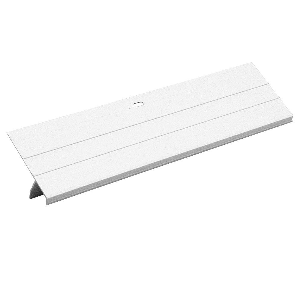 Amerimax Home Products 3 in. x 10 ft. White Vinyl Drip Edge Flashing
