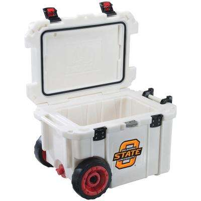 45 Qt. Oklahoma State University Cowboys Elite Wheeled Cooler