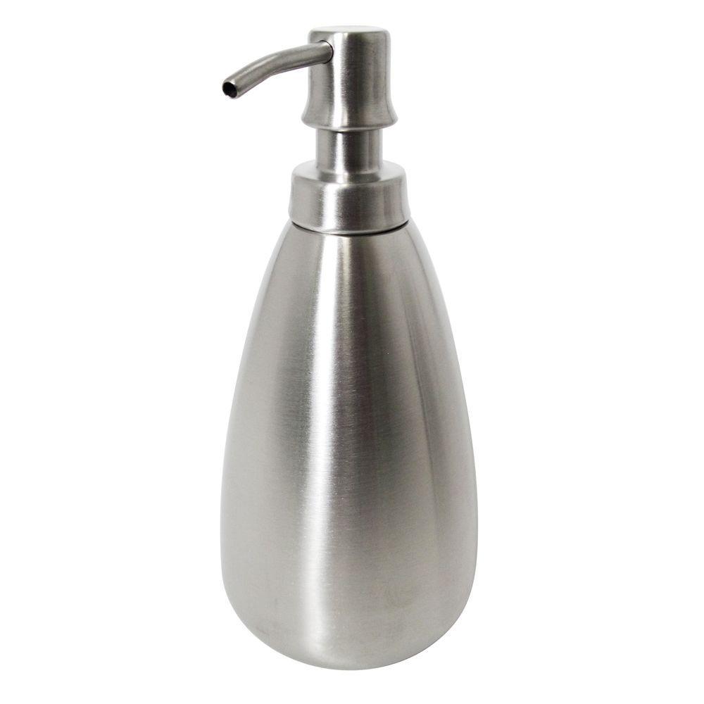 Nogu Soap Pump in Brushed Stainless Steel