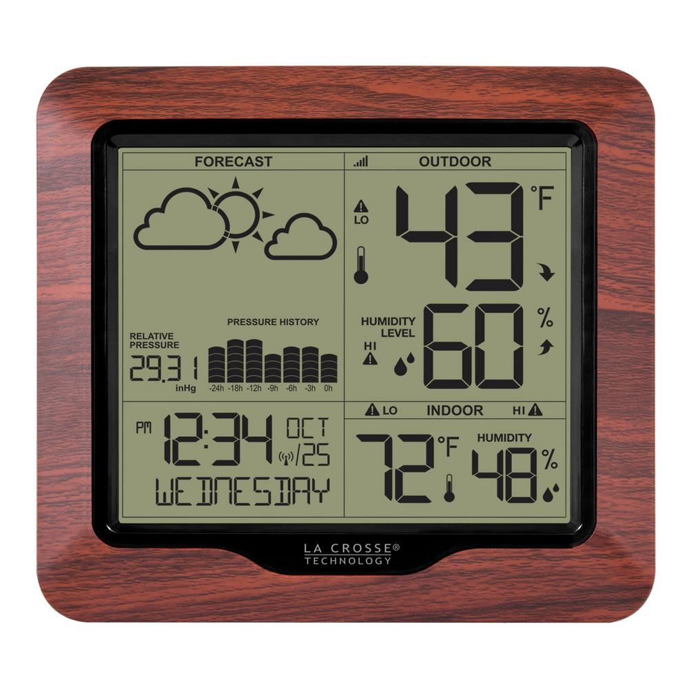 La crosse technology wireless backlight digital forecast station la crosse technology wireless backlight digital forecast station with pressure history and graph amipublicfo Images