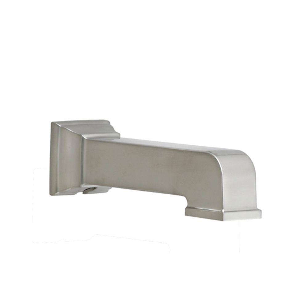 American Standard Town Square Slip On Tub Spout In Brushed