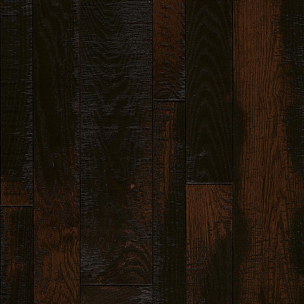 Bruce Revolutionary Rustics Red Oak Spiced Up 3/4 in. T x Varying W x Varying L Solid Hardwood Flooring (24 sq.ft./case)