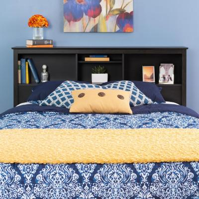 Sonoma Washed Black Double/Queen Headboard