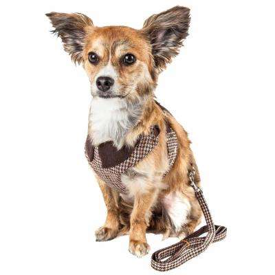 Luxe Houndsome Medium2-in-1 Reversible Adjustable Dog Harness Leash
