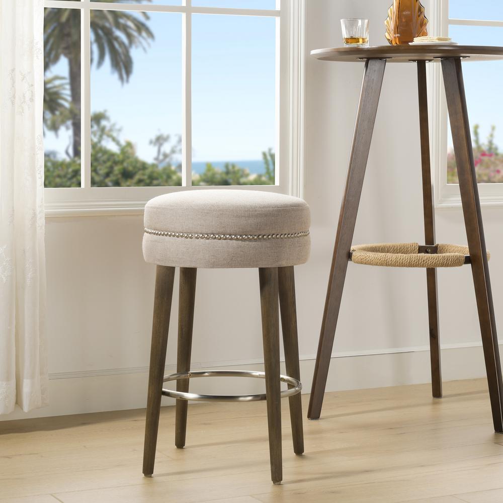Awe Inspiring Jennifer Taylor Home Vesper 26 Round Counter Height Bar Ibusinesslaw Wood Chair Design Ideas Ibusinesslaworg