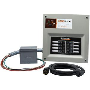 Generac Upgradeable Manual Transfer Switch Kit for 8 Circuits by Generac