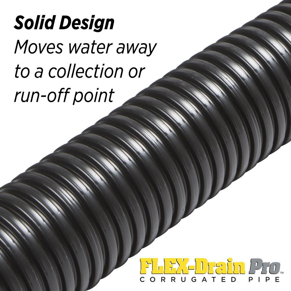 Drain Down Kit flexible 10 m 4 Piece Plombiers Orange pipe No Kink DDH Drain Off