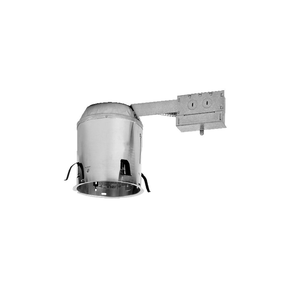 Halo H7 6 In Aluminum Recessed Lighting Housing For Remodel Ceiling Wiring Pot Lights Series Insulation Contact