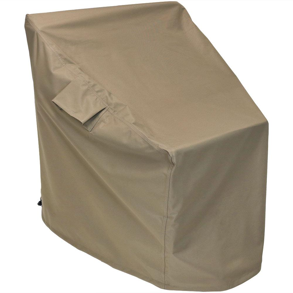 Remarkable Sunnydaze Decor Deep Seating Patio Chair Protective Cover In Khaki Download Free Architecture Designs Scobabritishbridgeorg