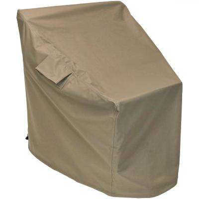Deep Seating Patio Chair Protective Cover in Khaki