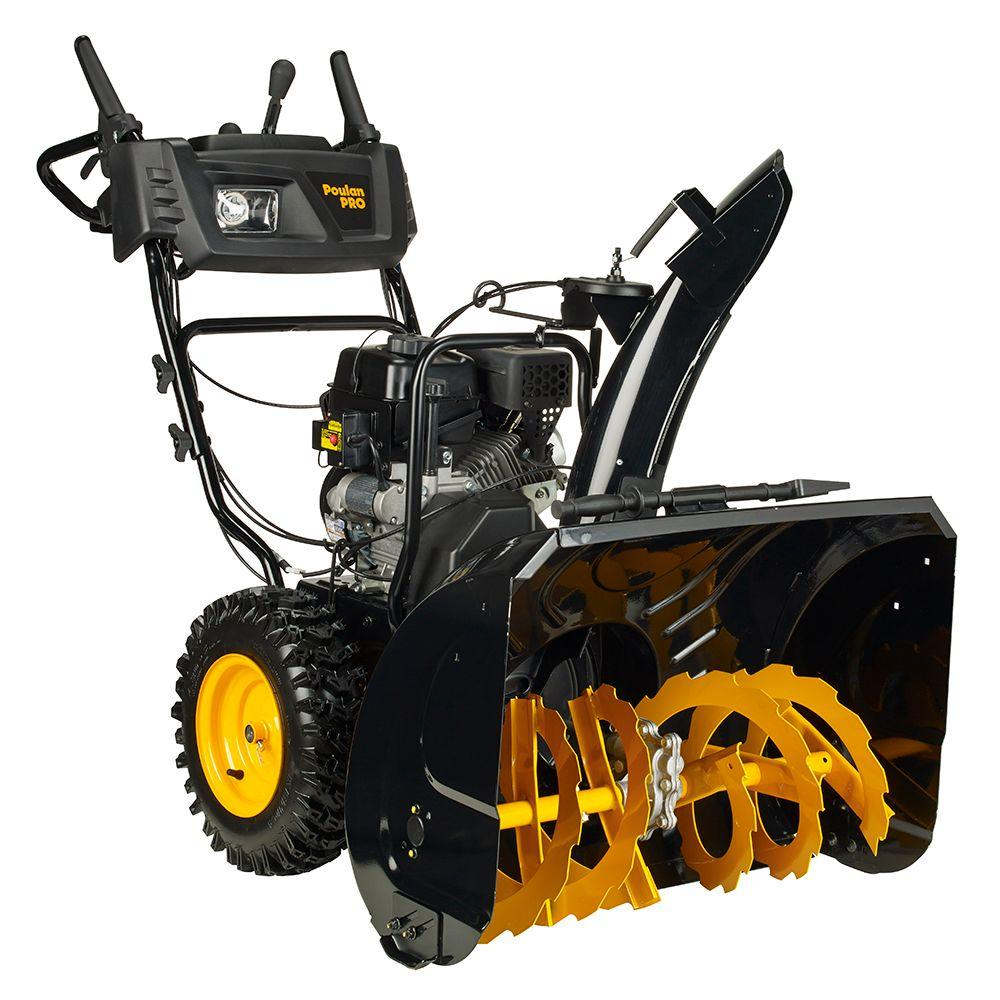 Poulan PRO PR305ES 30 in. 2-Stage Electric Start Snow Blower with Power Steering