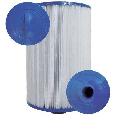CH Series 6 in. Dia x 8-1/4 in. 45 sq. ft. Replacement Filter Cartridge with 1-1/2 in. SAE Thread Top