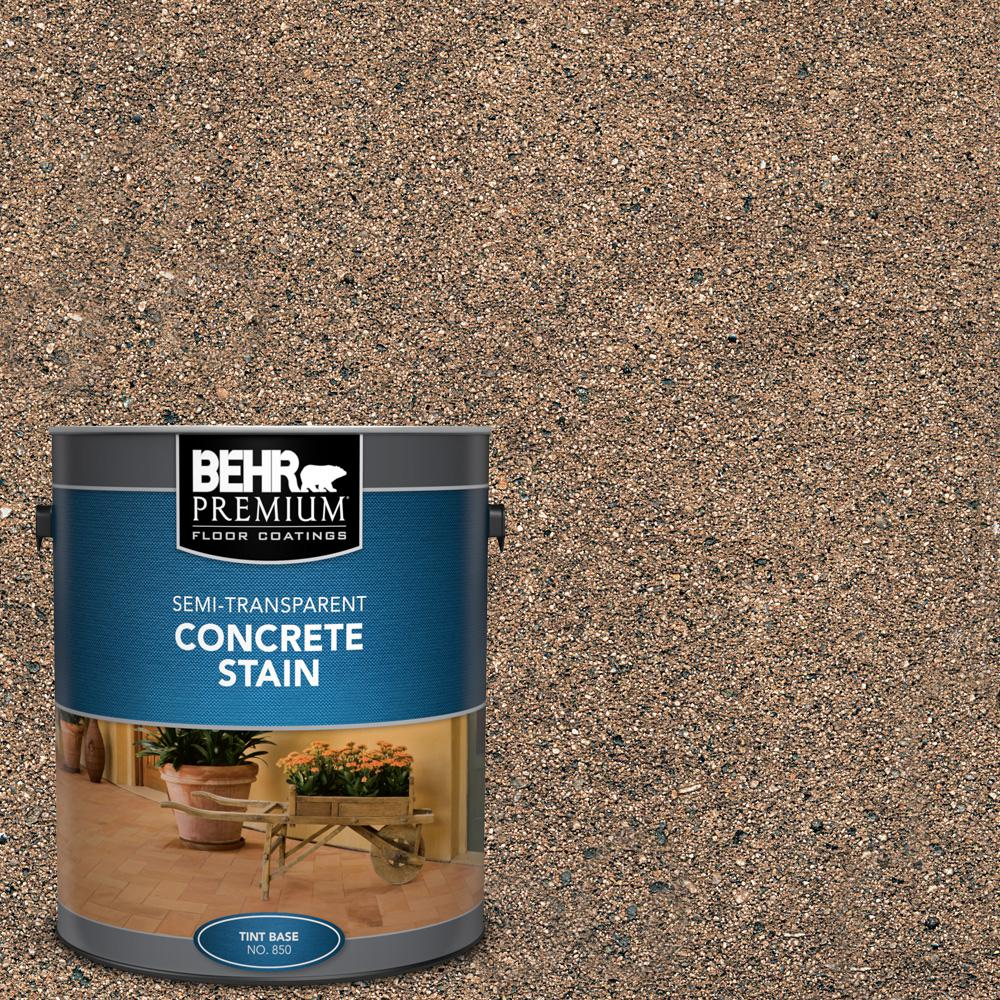 BEHR Premium 1 gal. #STC-22 Loden Semi-Transparent Flat Interior/Exterior Concrete Stain
