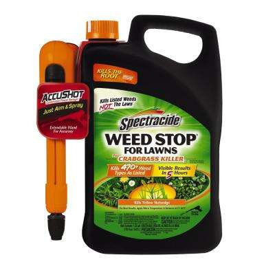 1.33 Gal. Weed Stop for Lawns with Accushot Sprayer Ready-To-Use Weed Plus Crabgrass Killer