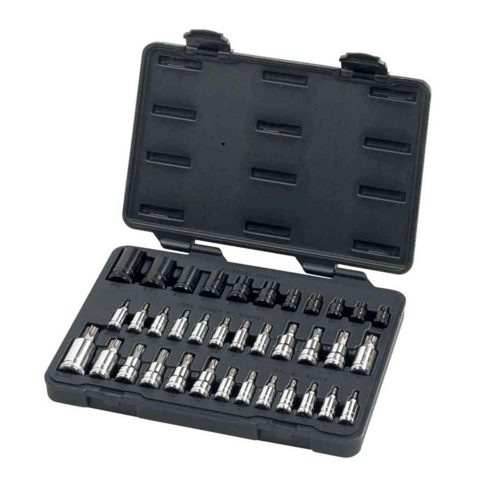 gearwrench master torx set 36 piece 80727 the home depot. Black Bedroom Furniture Sets. Home Design Ideas