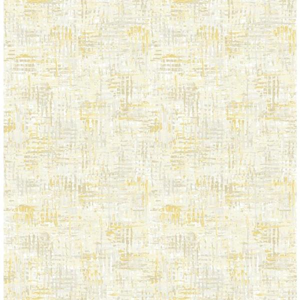A-Street Avalon Honey Weave Wallpaper Sample 2656-004028SAM