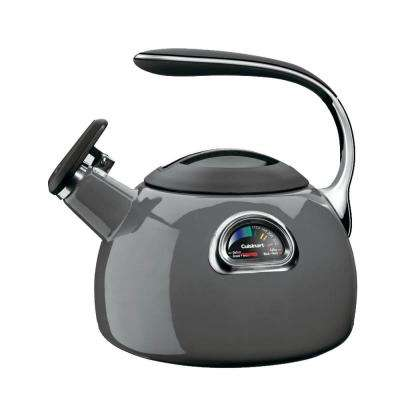 12-Cup Dark Grey Tea Kettle