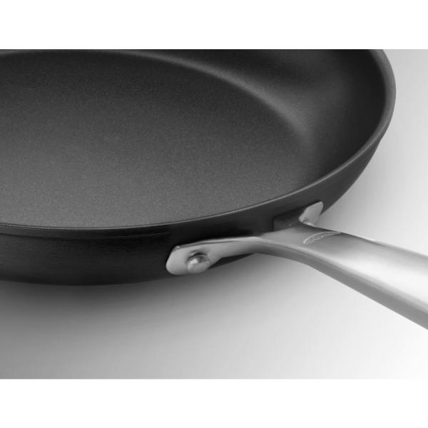 OXO - Good Grips 11 in. Hard-Anodized Aluminum Ceramic Nonstick Griddle in Black