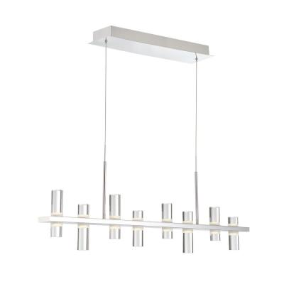 Netto 32-Watt Chrome Integrated LED Chandelier