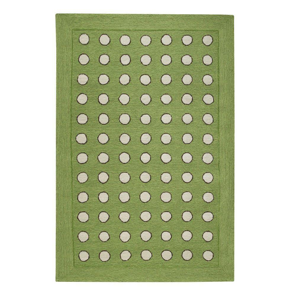 Home Decorators Collection Dottie Green 2 ft. x 3 ft. Area Rug
