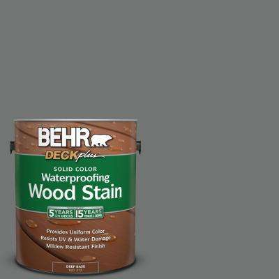 1 gal. #N520-5 Iron Mountain Solid Color Waterproofing Wood Stain