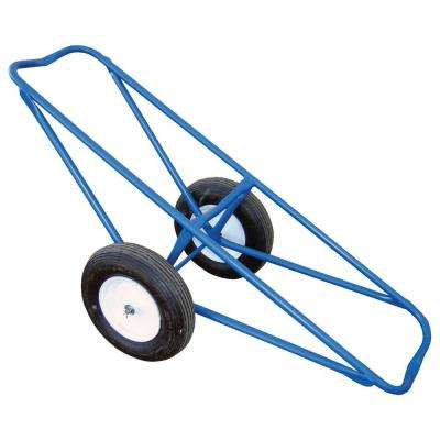61 in. x 25 in. Portable Carpet Dolly with Foam-Filled Wheels