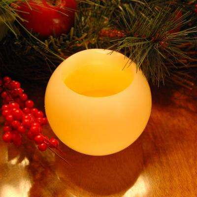 4 in. Ball Flameless Candles (Set of 2)