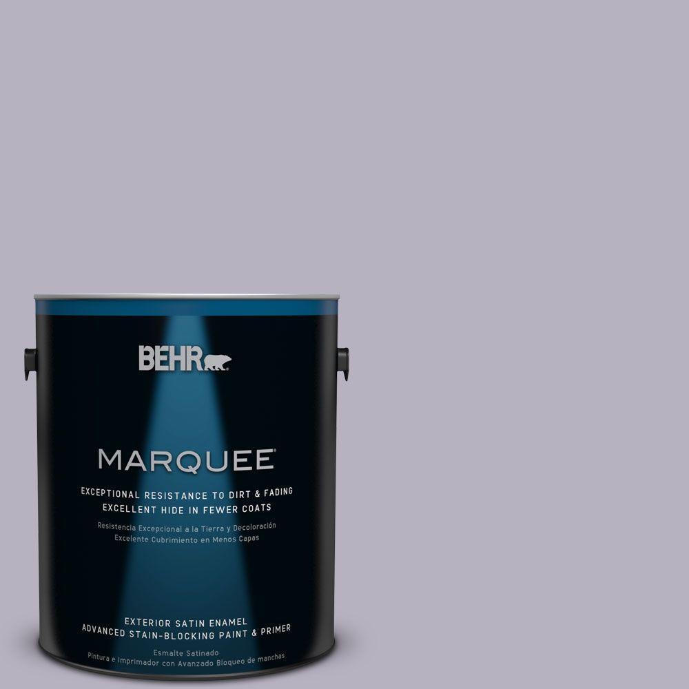BEHR MARQUEE 1-gal. #N560-2 Coveted Gem Satin Enamel Exterior Paint