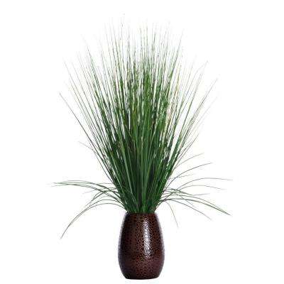 23 in. x 23 in. x 30 in. Tall Grass with Twigs in Ceramic Pot